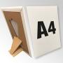 (210x297) Stand reklamowy formatu A4 z podpórką