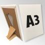 (297x420) Stand reklamowy formatu A3 z podpórką