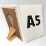 (148x210) Stand reklamowy formatu A5 z podpórką