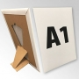 (420x594) Stand reklamowy formatu A1 z podpórką